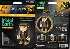 Lord of The Rings Frodo Metal Earth Legends 3-D Laser Cut Steel Model Kit New
