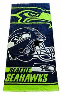 "Seattle Seahawks - Beach Towel - NFL Licensed 28"" x 58"" Summer  *New*"