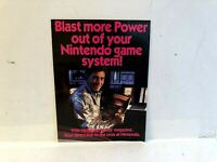 Nintendo Power Nintendo game System Mail In Large NES INSERT ONLY Authentic