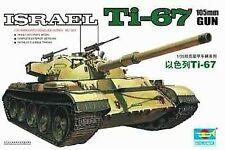 Israel T1-67 Tank 1:35 Plastic Model Kit TRUMPETER