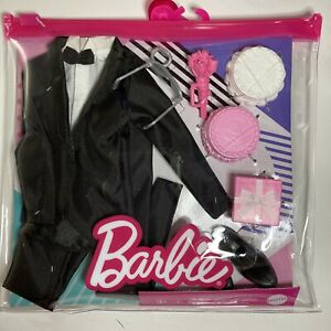 Barbie Fashion Pack Bridal Groom Outfit for Ken Doll with Tuxedo Shoes Watch NEW