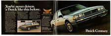 1985 BUICK Century T Type Vintage Original 2-pages Print AD - Wagon photo Canada