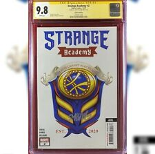 STRANGE ACADEMY #2  2ND PRINT VARIANT COVER CGC 9.8 SS SIGNED BY SKOTTIE YOUNG