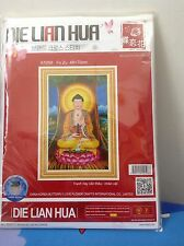 Die Lian Hua Cross stitches Kit (#A1058)Buddha Is Sitting On The Lotus In 3D
