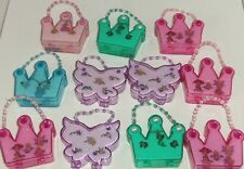 Disney Earrings Rings Necklace Ariel Cinderella Tinker Bell Lot of 11
