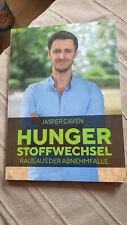 Sachbuch Hunger Stoffwechsel Raus aus der Abnehmfalle v. Jasper Caven