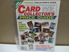 New listing VINTAGE CARD COLLECTOR'S PRICE GUIDE - VOLUME # 1