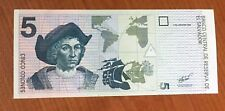 BANKNOTE  EL SALVADOR  5 COLONES OF LAST DESIGN 97 OR 98 OR 99 VF+