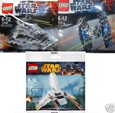 3x lego Star wars naves imperiales: destructor 30056 + tie 8028 + ferry 30246