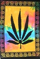 Tapestry Multicolor Marijuana Leaf Home Decor Poster Bohemian Wall Hanging Art