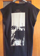 More details for official u2 the joshua tree black 1987 european tour t-shirt with back print lrg