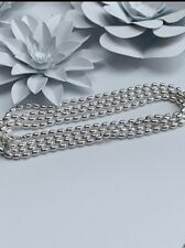 Genuine Pandora 100cm Rice Chain Necklace