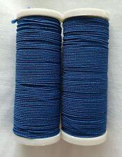 New 1 x 10M White 1 × 10M Black Elasticated Sewing Thread For Hand// Machine
