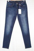 Kancan Jeans Women's Mid Rise Skinny Stretch Dark Blue KC11214GT