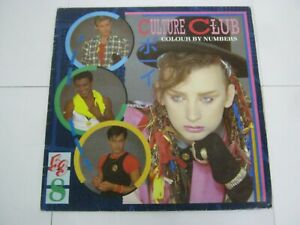 RECORD ALBUM CULTURE CLUB COLOUR BY NUMBERS 2415