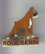 RARE PINS PIN'S .. ANIMAL CHIEN DOG BOXER ROYAL CANIN ALIMENT FOOD CROQUETTE ~DF