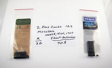 """Weaver Bases 36 / 40a- Mossberg front extension - extra .689"""" of spacing"""