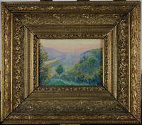 Eugène Colignon, 1876, Vallée de Meuse, Belle lumière, Cotation jusque 1.100 €
