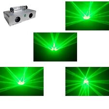 Double 200mW Green  home party disco dj Laser Stage Lighting projector equipment