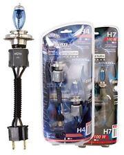 Set 2 Lamparas H7 12V 100W HELIUM QUARTZ RACE SPORT 5500K  BLANCO INTENSO