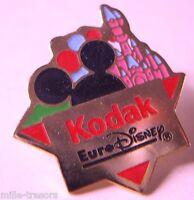 Ancien PIN'S KODAK Partenaire Officiel EURO DISNEY : Modèle EURODISNEY