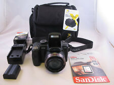 Panasonic 12MP FZ35 Camera,18X Zoom,16GB SDHC Card,Battery, New,Charger,New Case