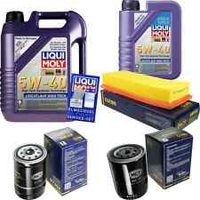 Inspection Kit Filter Liqui Moly Oil 6L 5W-40 for VW Passat Variant 32B 1.6 D