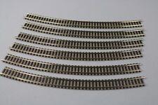 ZC2485 Fleischmann N 1/160 train 9130 6 rail courbe R3 394.4 mm 30° curved track
