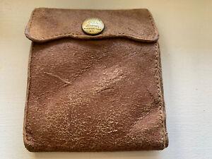 NEW Ralph Lauren RRL Suede  Bifold Wallet No Box! Just The Wallet