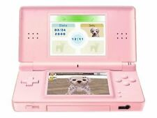 Nintendo DS Lite Pink Handheld Console With 2 Games UK
