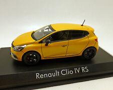 Renault Clio IV RS, amarillo-metalizado, norev 1:43