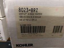 Kohler 8023-BRZ Watertile 22 Nozzle Showerhead New