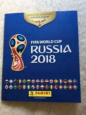 Panini Fifa 2018 World Cup Sticker Album + 576 Stickers