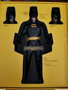 Hottoys 1/6 Scale BATMAN HT 1989 Version DX09 Collectible Action Figure Custom