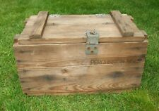 Vintage Wooden Ammo Box Percussion M58 Primers Badger Mfg. 11 56 Wicks Ark