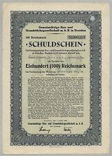 Costruzione-U. planimetria società Dresda – colpa fittizio, RM 100, 01.01.1936