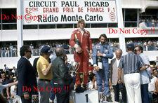 James Hunt McLaren M23 Winner French Grand Prix 1976 Photograph 1