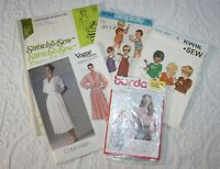 Vintage Vogue Sewing Patterns, Calvin Klein, Burda, Simplicity Kwik sew 70/80s 5