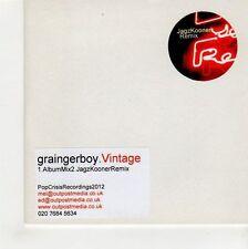 (GF912) GraingerBoy, Vintage - 2012 DJ CD