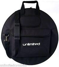 "22"" Multi-Cymbal Gig Bag w/Shoulder Strap & Pocket - Awesome Deal"