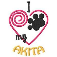"""I """"Heart"""" My Akita Short-Sleeved T-Shirt 1427-2"""