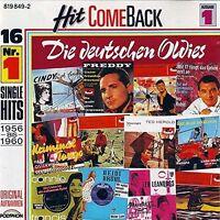 Hit come back 1-Die deutschen Oldies (1956-1960) Freddy Quinn, Margot Esk.. [CD]