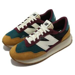 New Balance 237 NB Brown Red Multi Men Unisex Casual Lifestyle Shoes MS237HR1-D