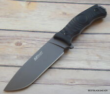 MTECH 4MM THICK BLADE FULL TANG FIXED BLADE HUNTING SURVIVAL KNIFE NYLON SHEATH