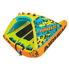 Airhead Poparazzi 3 Inflatable 3 Rider Towable Boat Tube
