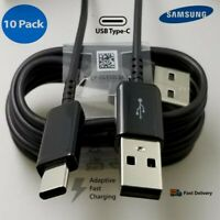 10 Pack OEM USB C Cable Type C Fast Charger For Samsung Galaxy S8 S9 S10+ Note 9