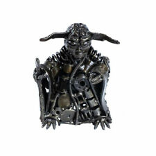 Scrap Metal Art Steel Yoda Figurine Sculpture Ornament