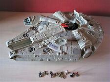 Star Wars Action Fleet Millenium Falcon mit Figuren Kanonen Top!