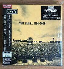 NEW & Sealed Oasis Time Flies 1994-2009 3CD + DVD Japan Japanese CD SICP 2760-3