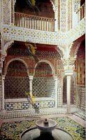 Sala de Reposo Royal Baths, Alhambra, Andalusia, Spain, Modern Reproduction